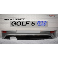 GOLF 5 R32 Rear Apron -...
