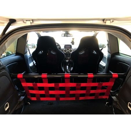 Clubsport Set - Strebe mit Netz für Opel Corsa D