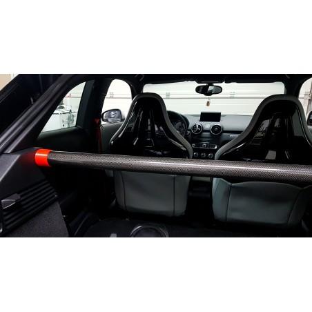 Audi A1 / S1 Strebe inkl. Halter - Aluminium / Pulverbeschichtet