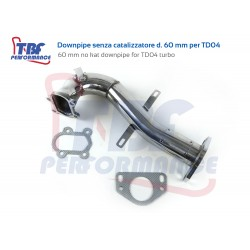 Downpipe TD04 60 mm Abarth...