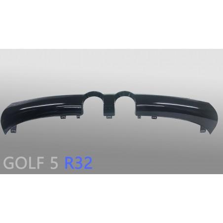 Golf 5 R32 Diffusor Schwarz Glanz